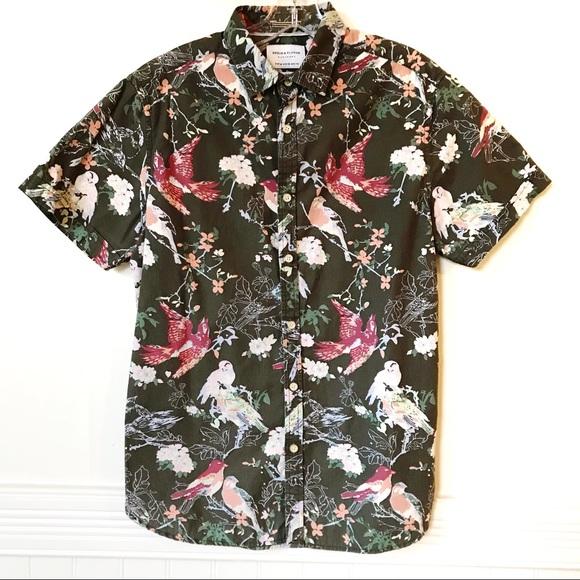 febd6626f96 Denim   Flower Other - 🕊Denim   Flower🕊 Men s Floral Bird Button Down